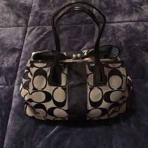 """Coach bag 💼  approximately 14"""" long 10"""" high"""